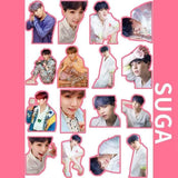 BTS Map Of The Soul Persona Stickers (Full Version) - SUGA - Sticker