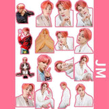 BTS Map Of The Soul Persona Stickers (Full Version) - JIMIN - Sticker