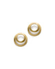 Clasp Earrings Gold