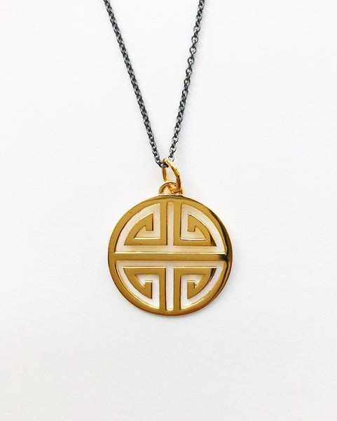 Guilin gold Pendant vermeil