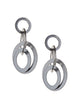 Module Earrings Silver