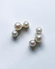 Teagan pearl cluster earrings