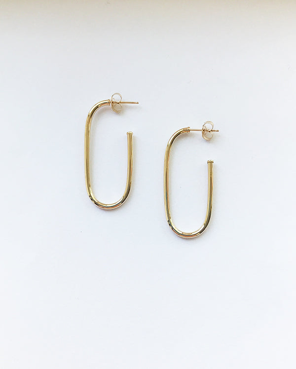 Sloane hoop earrings