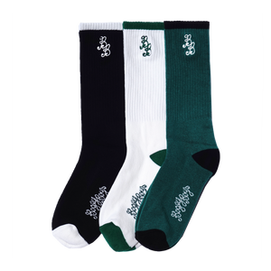BB Solid Socks - 3 Pack