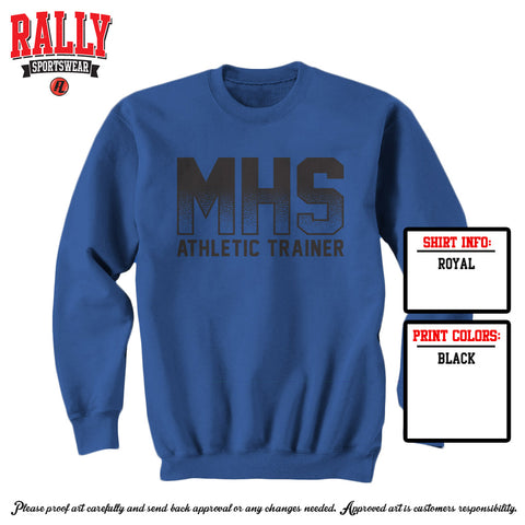 Trainer Sweatshirt - Blue