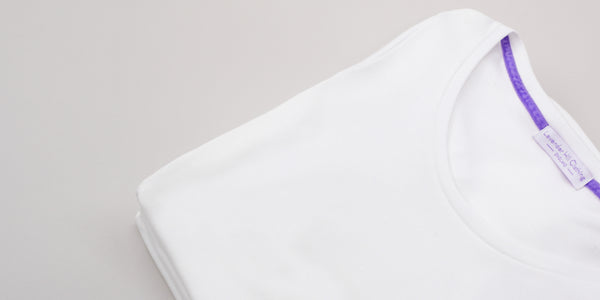 perfect white tshirt - made in britain