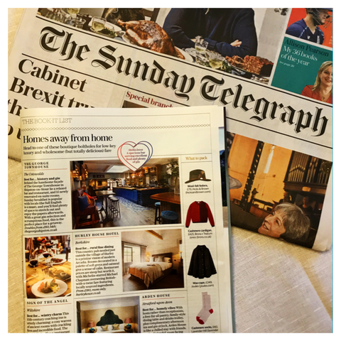 Lavender Hill Clothing Sunday telegraph