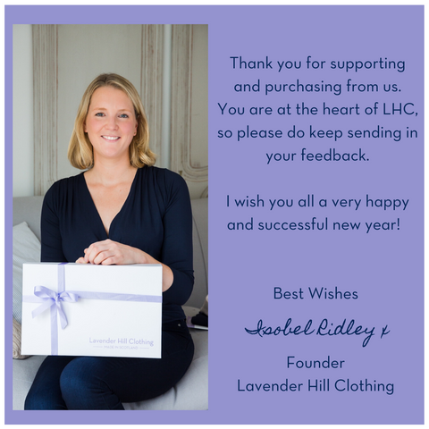 a note from our female founder Isobel Ridley