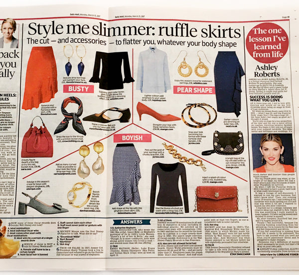 Lavender Hill T-shirt Featured in the Daily Mail