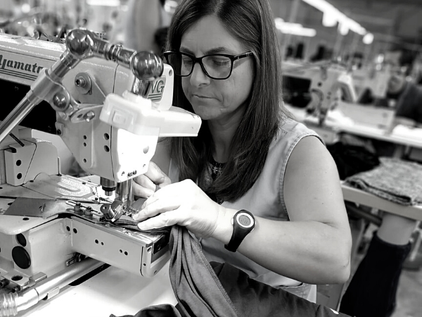 Discover the fabrics and factories we use