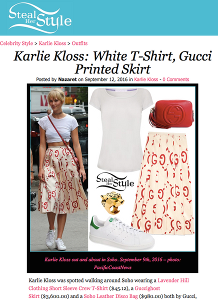 Karli Kloss Steal her Style - classic tshirt