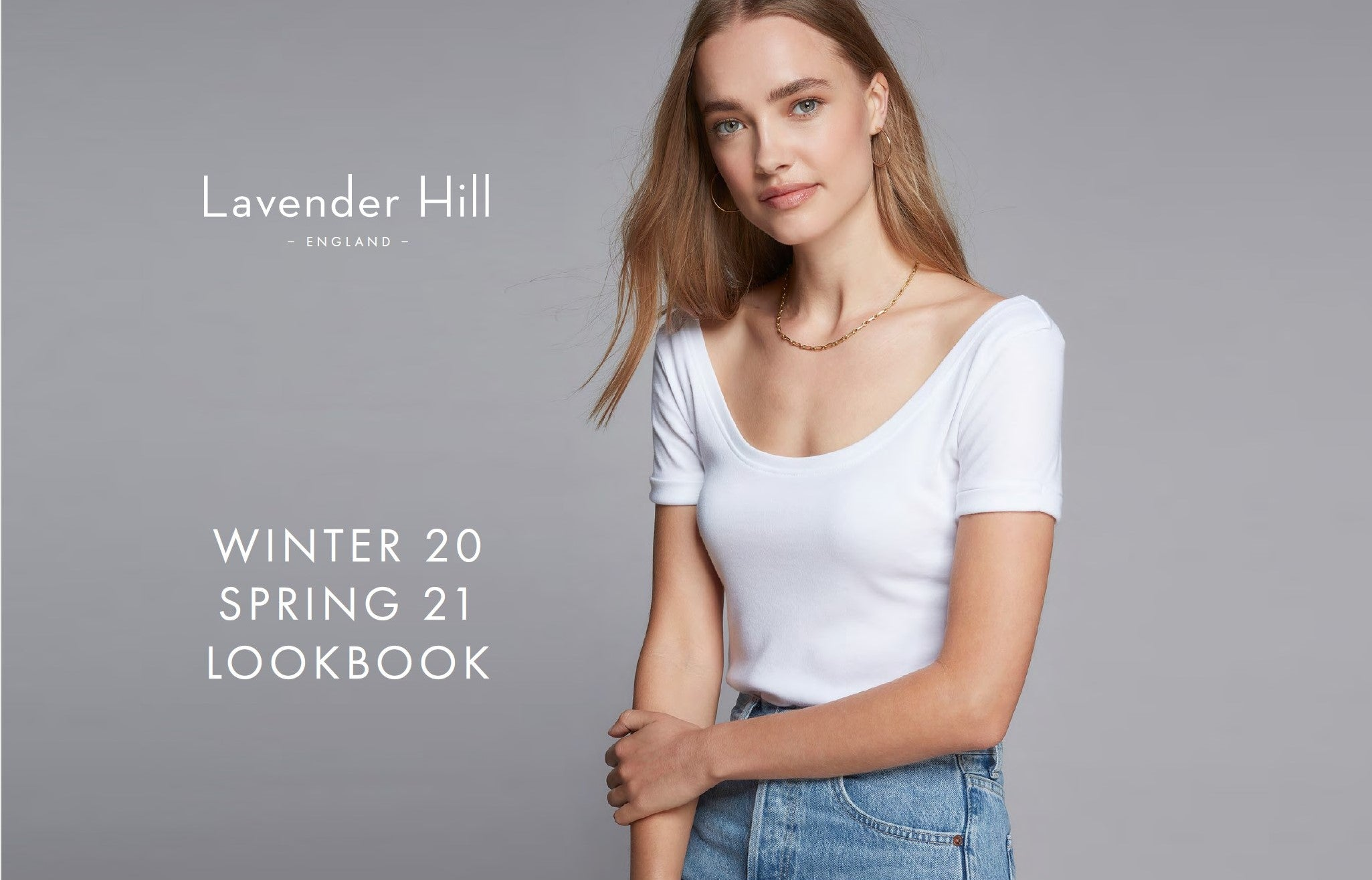 Lavender Hill Lookbook Front Cover