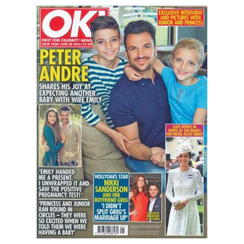 Ok magazine features lavender hill clothing