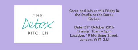 The detox Kitchen pop up - lavender hill clothing