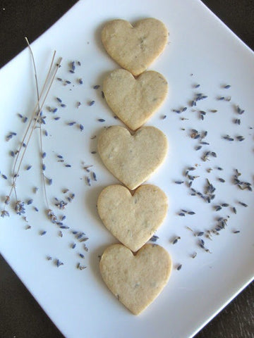 Lavender Shortbread - Mary Berry, Lavender Hill Clothing
