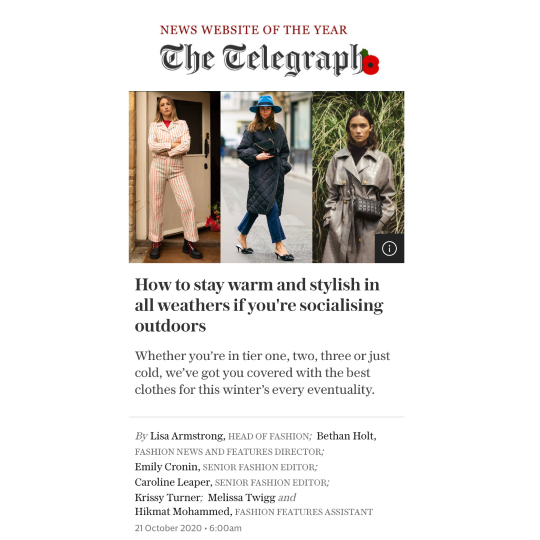 The Telegraph features Lavender Hill