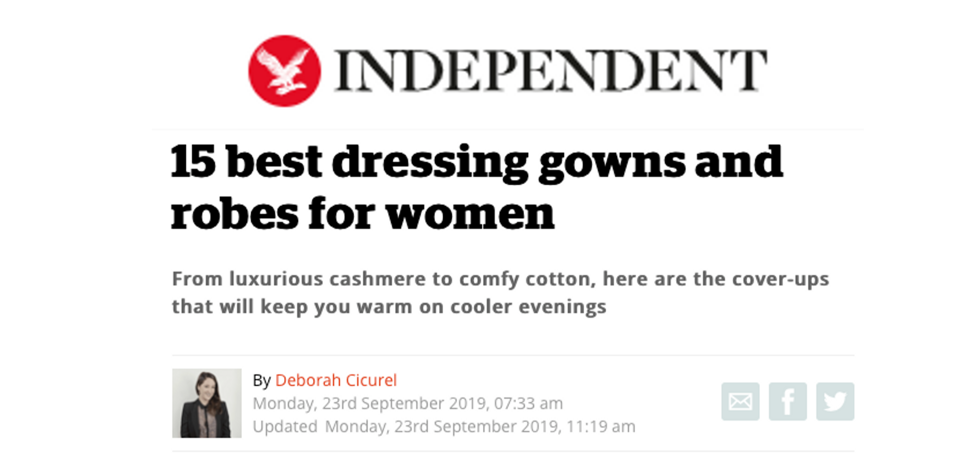 Best dressing gowns for women