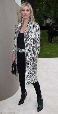Kate Moss at Burberry in Lavender Hill Clothing
