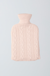 Cashmere Hot Water Bottle Cashmere Accessories Lavender Hill Clothing