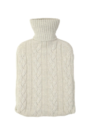Scottish Cashmere Hot Water Bottle Cashmere Accessories Lavender Hill Clothing