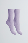 Soft Scottish Cashmere Women's Socks - Comfortable Lavender Socks Lavender Hill Clothing - Cozy Bed Socks