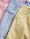 Pastel Linen T-shirt Short Sleeve T-shirt Lavender Hill Clothing