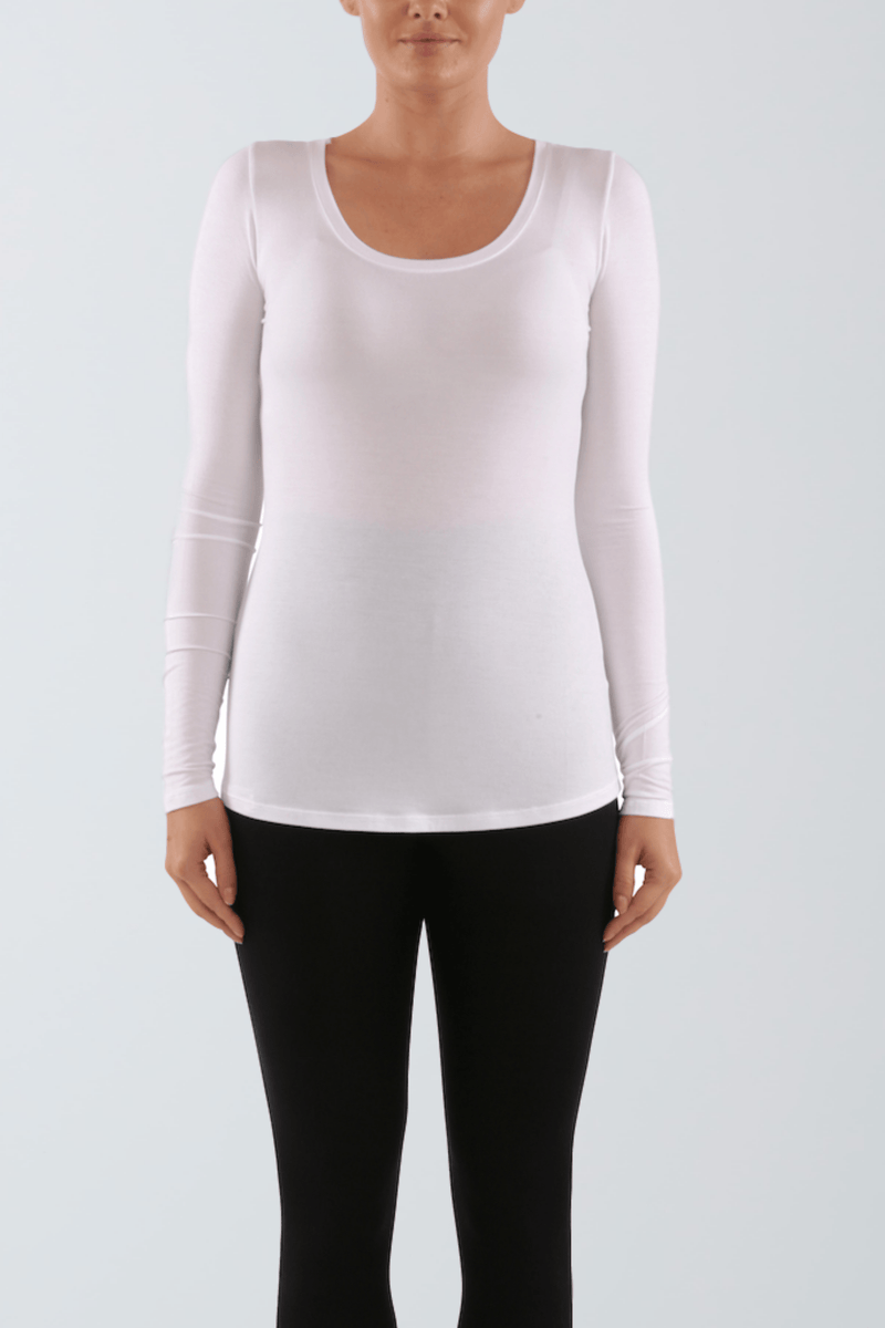 Long Sleeve Layering T-shirt - Micro Modal Long Sleeve T-shirt - Comfortable Layering T-Shirt - Light Weight T-Shirt - Soft Layering T-Shirt - Sustainable Lavender Hill Clothing