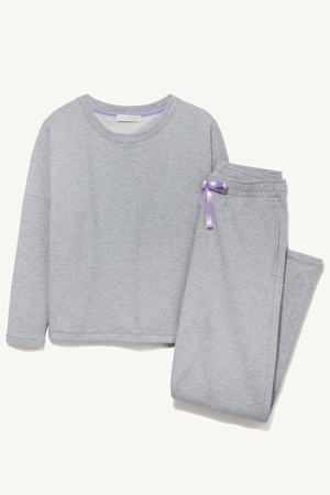Tencel Cotton Lounge Set Lounge Sets Lavender Hill Clothing