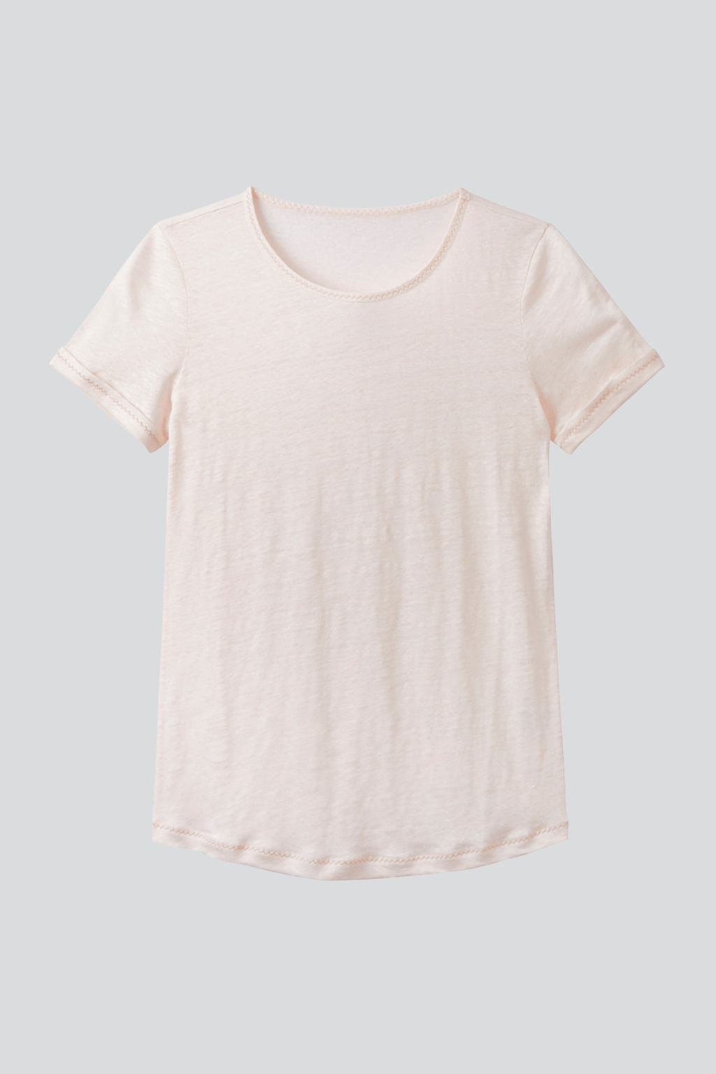 Linen T-shirt Short Sleeve T-shirt Lavender Hill Clothing