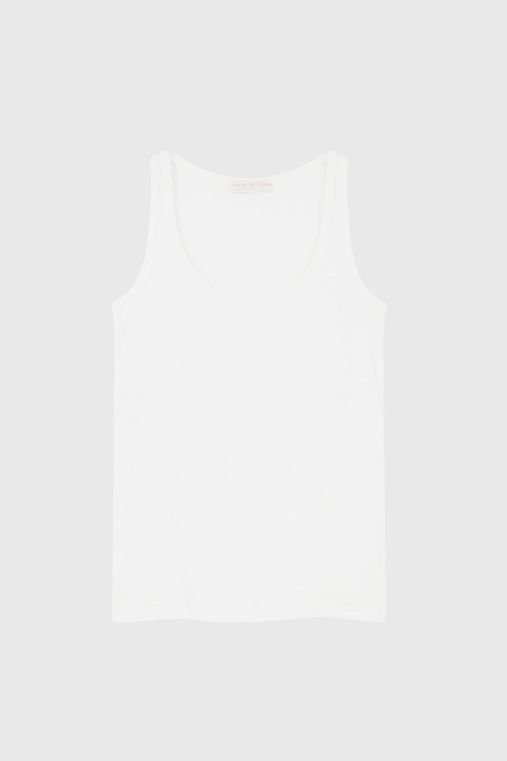 Scoop Neck Tank Sleeveless Lavender Hill Clothing