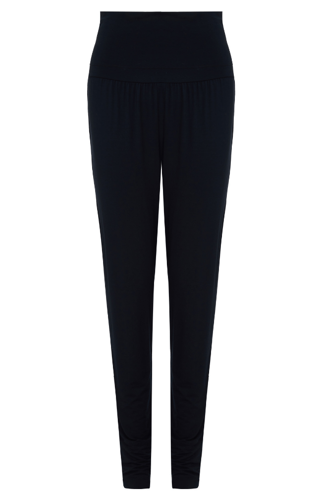 Navy Yoga Trousers - soft ladies loungewear