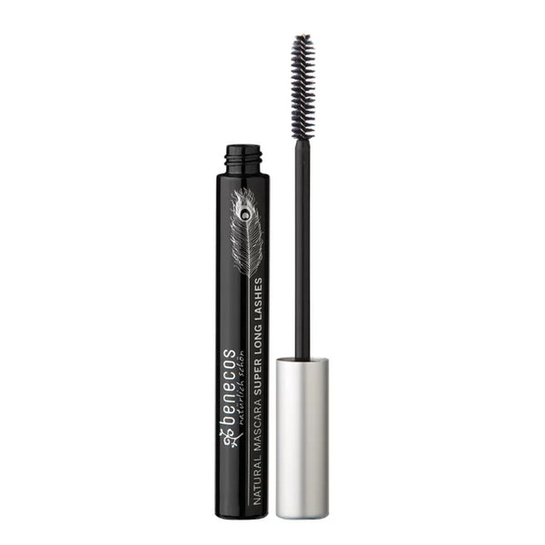 Máscara para Cílios Orgânico Natural Super Long Lashes Carbon Black