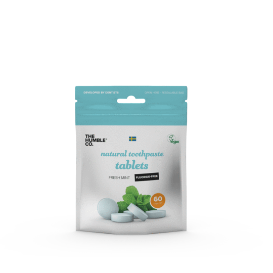 Pastilha dental sólida Fresh mint - 60 un