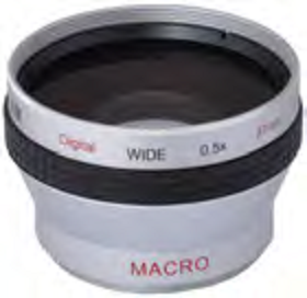 0.5x WIDE ANGLED LENS - 37MM MOUNT (TOKAR)