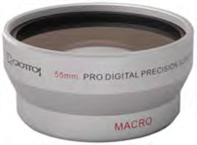 0.5x WIDE ANGLED LENS - 55MM MOUNT (GIOTTOS)