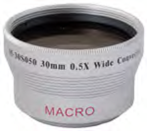 0.5x WIDE ANGLED LENS - 30MM MOUNT (MARUMI BRAND)
