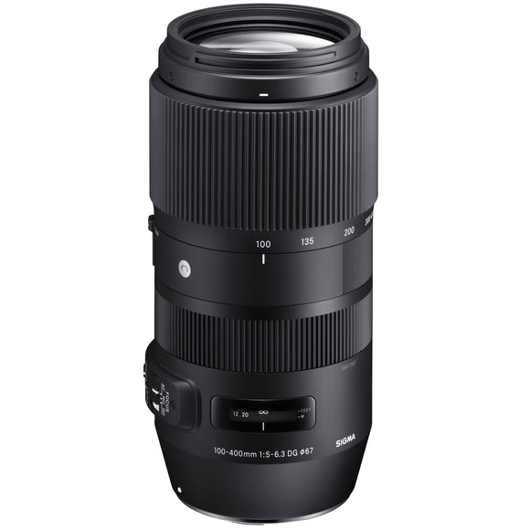Sigma 100-400mm F5-6.3 DG OS HSM Contemporary Lens for Nikon