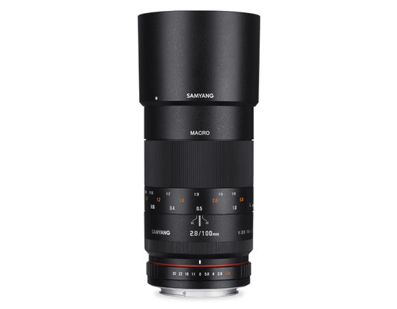 100MM F2.8 MACRO SAMYANG LENS FOR FUJIFILM X