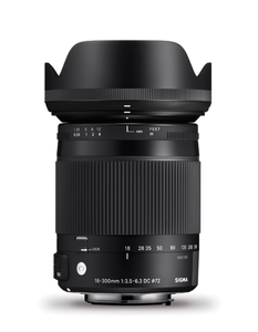 Sigma 18-300mm f3.5-6.3 DC Macro OS HSM Contemporary Lens for Nikon