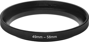 49-58MM STEP UP STEPPING RING