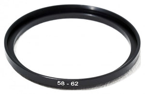 58-62MM STEP UP STEPPING RING