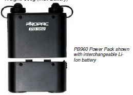 POWERPACK PB960/ AD180 SPARE BATTERY-11.1V/4000mAH