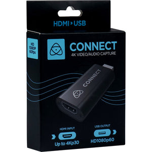 Atomos Connect 4K HDMI to USB Converter for Video Capture / Stream
