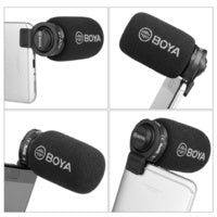 BOYA BY-A7H Smartphone Microphone with 3.5mm TRRS