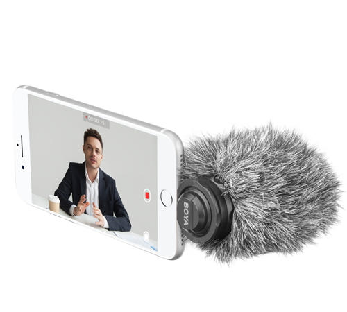 BOYA BY-DM200 Lightning Digital Stereo Microphone for Apple Smartphones