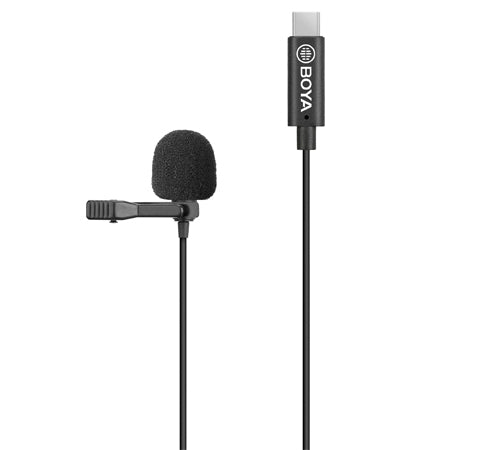 BOYA BY-M3-OP Clip-On Digital Lavalier Microphone for DJI OSMO™ Pocket & GoPro-Style Action Cameras