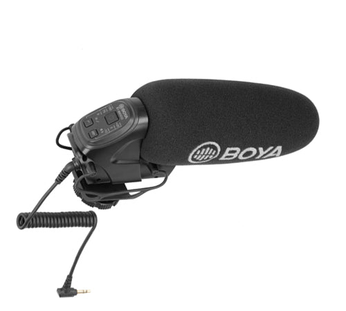 BOYA BY-BM3032 Super Cardioid Shotgun Microphone