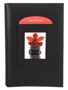 "BUCKRAM 300 CAPACITY 6""X4"" PHOTO ALBUM 3013G8BL"
