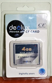 COMPACT FLASH CARD 8G (Deolux)