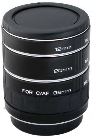 EXTENSION TUBE  - CANON EOS EF/EF-S
